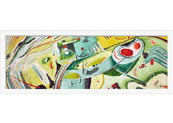 Liamvasik Arts Lirical Abstraction Painting Watercolor - Greenture